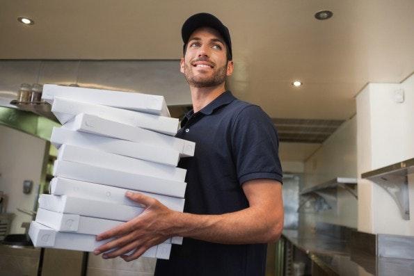 pizza ins buero