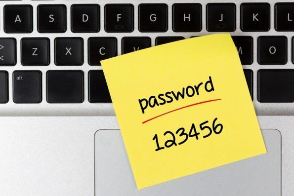 """123456"" gehört zu den beliebtesten Passwörtern. Ein Mega-Fail! (Bild: Shutterstock-Shutteratakan)"
