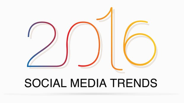 Die wichtigsten Social-Media-Trends für 2016: Live-Streaming, On-Platform-Content und vieles mehr
