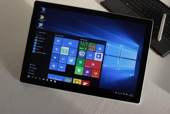 Windows-10-Rechner finden derzeit besseren Absatz als Macs. (Foto: t3n)