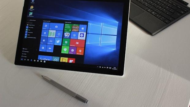 "Surface Pro 4 im Test: Microsofts Windows-10-Tablet mit ""Hello""-Effekt"
