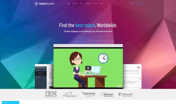 Mit Talentwunder sollen Unternehmen leichter an geeignete Mitarbeiter kommen. (Screenshot: t3n)