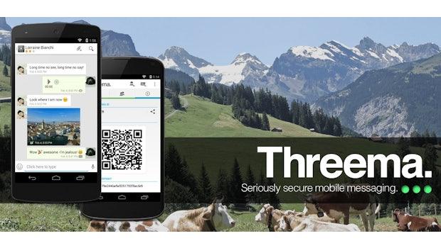 Die Themen Sicherheit und Datenschutz werden bei vielen Messaging-Apps leider immer noch kleingeschrieben, auch wenn einige diesbezüglich schon nachgelegt haben. Threema war einer der ersten Messenger, bei denen die Sicherheit höchste Priorität hatte.(Bild: Threema)