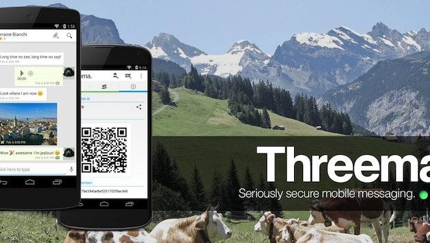Die Themen Sicherheit und Datenschutz werden bei vielen Messaging-Apps leider immer noch kleingeschrieben, auch wenn einige diesbezüglich schon nachgelegt haben. Threema war einer der ersten Messenger, bei dem die Sicherheit höchste Priorität hatte.(Bild: Threema)