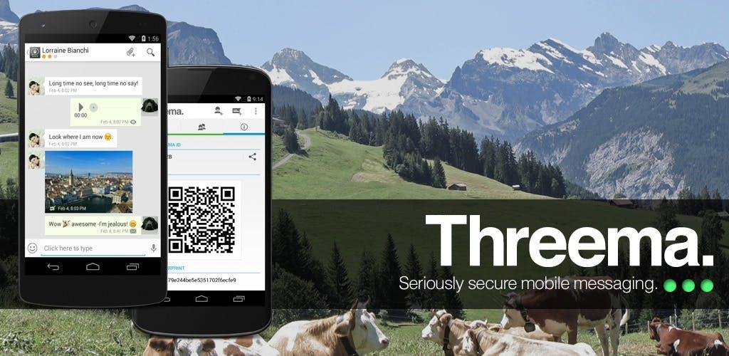 Die Themen Sicherheit und Datenschutz werden bei vielen Messeging-Apps leider immer noch kleingeschrieben, auch wenn einige diesbezüglich schon nachgelegt haben. Threema war einer der ersten Messenger, bei denen die Sicherheit höchste Priorität hatte.(Bild: Threema)