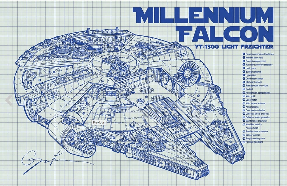 weihnachtsgeschenke geeks milenium falcon inkedandscreened | t3n ...