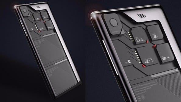 Auch ZTE hatte 2013 mit dem Eco Mobius versucht ein modulares Smartphone zu entwerfen. (Bild: ZTE)
