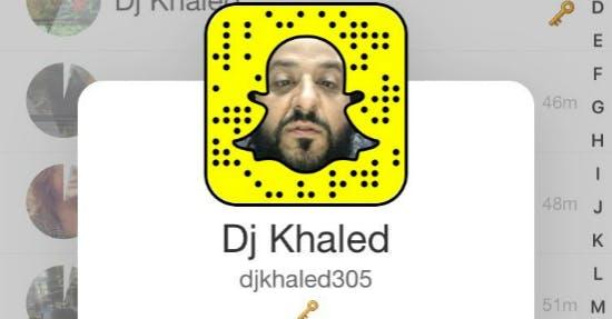 DJ Khaled ist wohl der erfolgreichste Snapchatter der Welt.