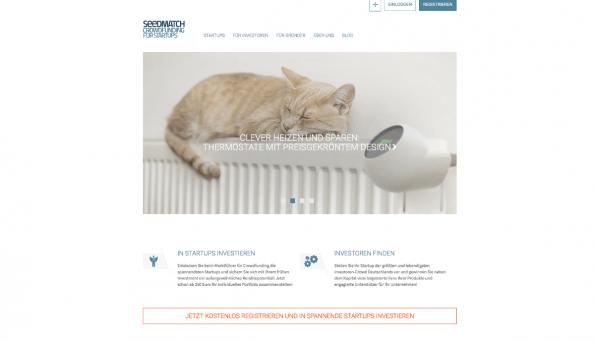 Seedmatch ist Deutschland populärste Crowdinvesting-Plattform. (Screenshot: t3n)