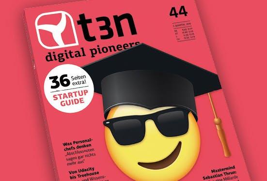 t3n-Interview mit Sebastian Thrun: Bildung für eine Milliarde Menschen
