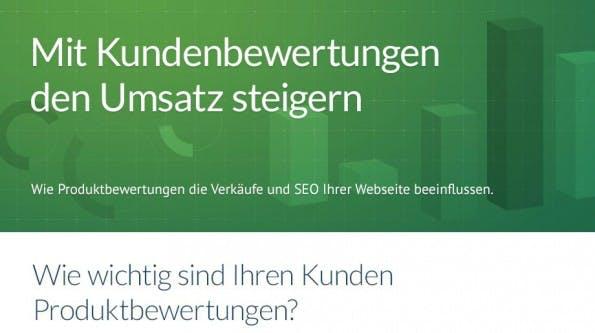 E-Commerce-Kundenbewertungen