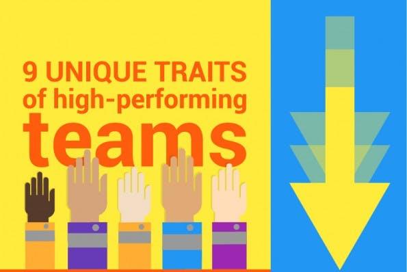 9 Eigenschaften hochgradig erfolgreicher Teams. (Grafik: Weekdone)