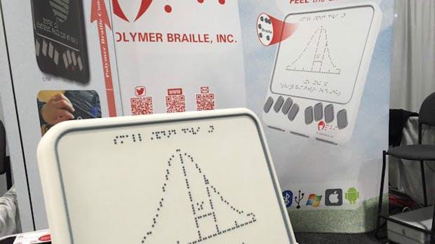 Günstiger und handlicher: Neue Generation von Braille-Lesegeräten für Blinde vorgestellt