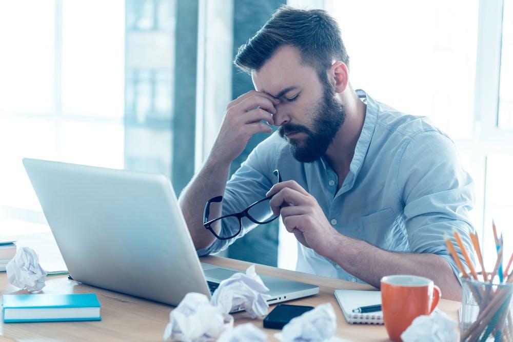 DAK: Arbeitsausfälle wegen psychischer Probleme mehr als verdreifacht