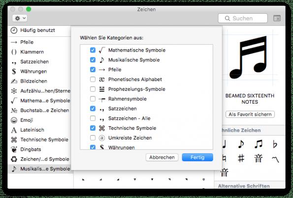 Symbole soweit das Auge reicht (Screenshot: t3n)