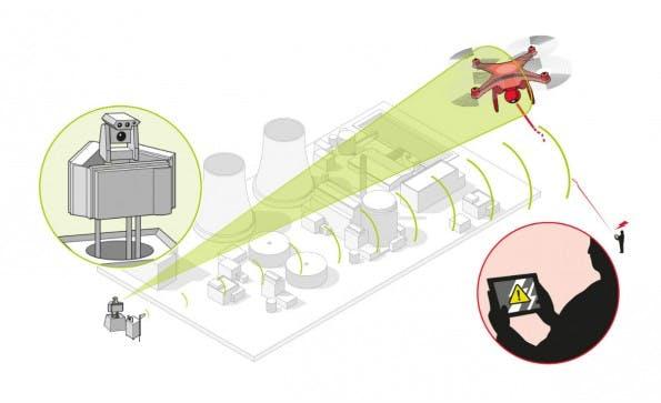 Airbus präsentiert System zur Drohnen-Abwehr. (Bild: Airbus Defense and Space)