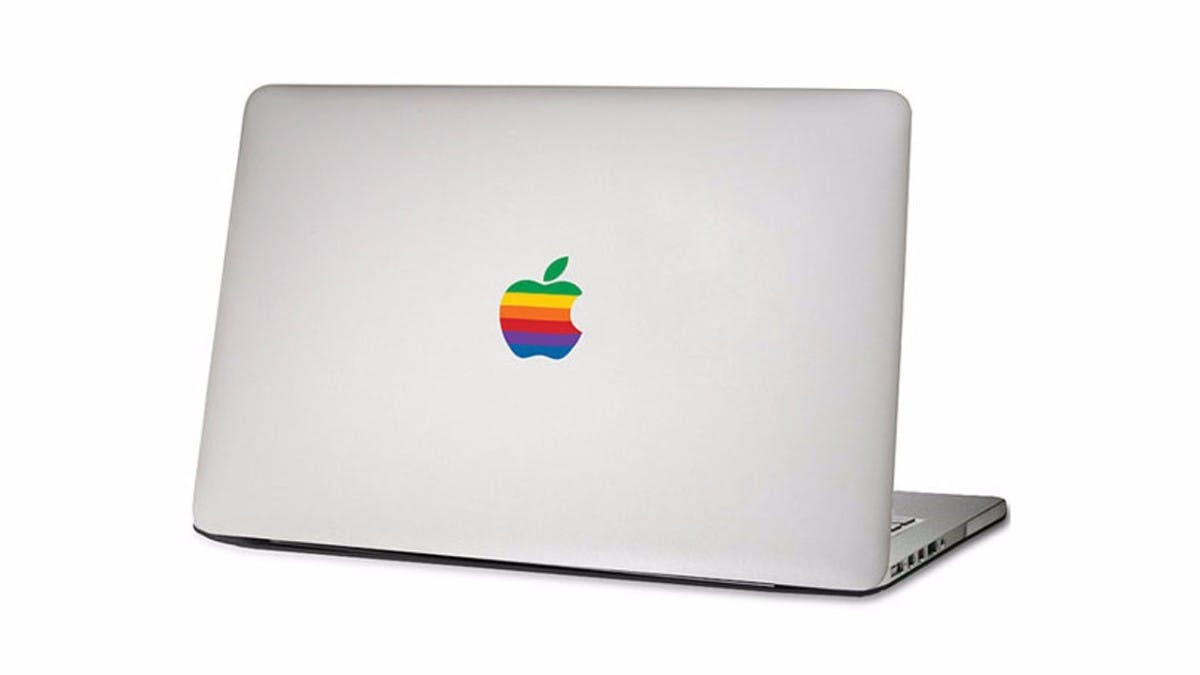 Apples MacBook goes retro. Bild: DaWanda