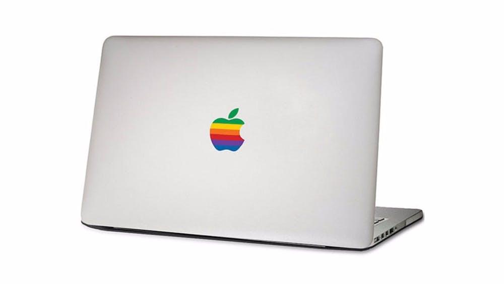 Apples MacBook goes retro. Bild: DaWanda