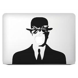 Macbook trifft Magritte. (Bild: Amazon)