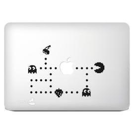 Pacman übernimmt das Apple-Logo. Bild: Amazon