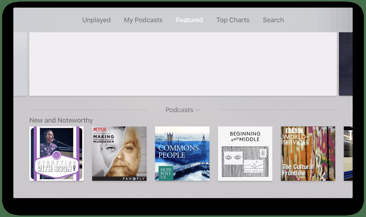 Apple tv OS 9.2 Beta (Bild: 9to5Mac)
