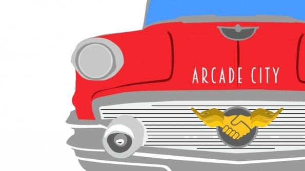 Arcade City ist ein Blockchain-basiertes Transportnetzwerk. Gebucht werden Fahrten wie gewohnt per App. Über die Bedingungen entscheiden aber Fahrer und Nutzer zusammen. (Grafik: arcade.city)