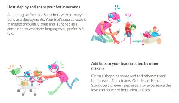 Beep Boop ist ein Hosting-Dienst für Slack-Bots. (Screenshot: beepboophq.com)