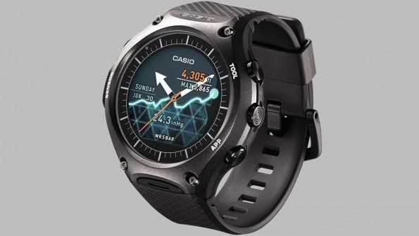 Casio WSD-F10 (Bild: Casio)