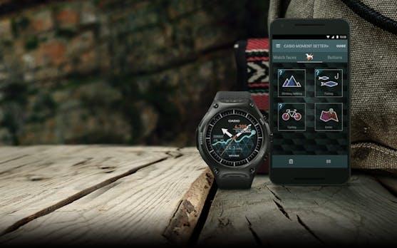 Outdoor-Charme: Casios erste Smartwatch ist hart im Nehmen und wasserdicht