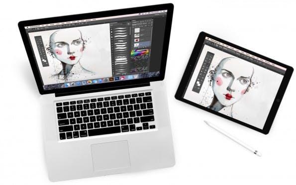 Astropad spiegelt euren Bildschirm auf das iPad. (Bild: Astropad)