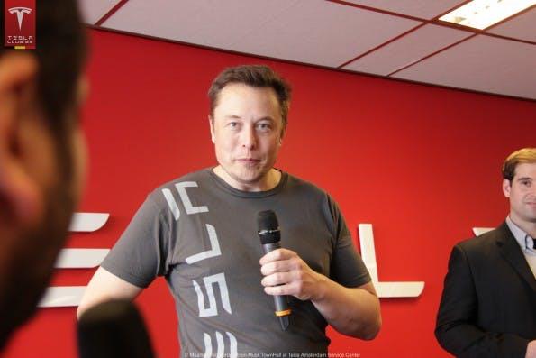 Hat zu viel versprochen: Tesla-CEO Elon Musk. #FLICKR#