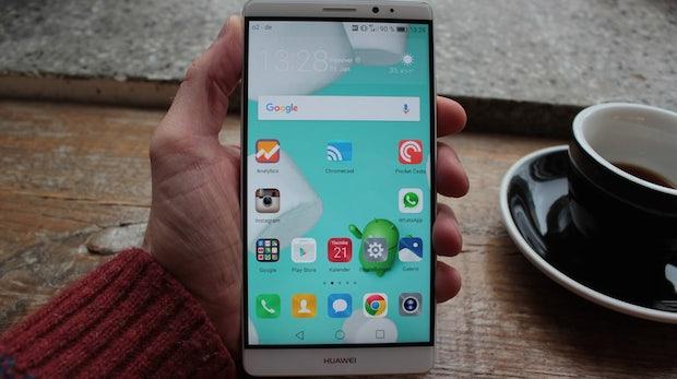 Edles Akkumonster: Das Huawei Mate 8 im Test