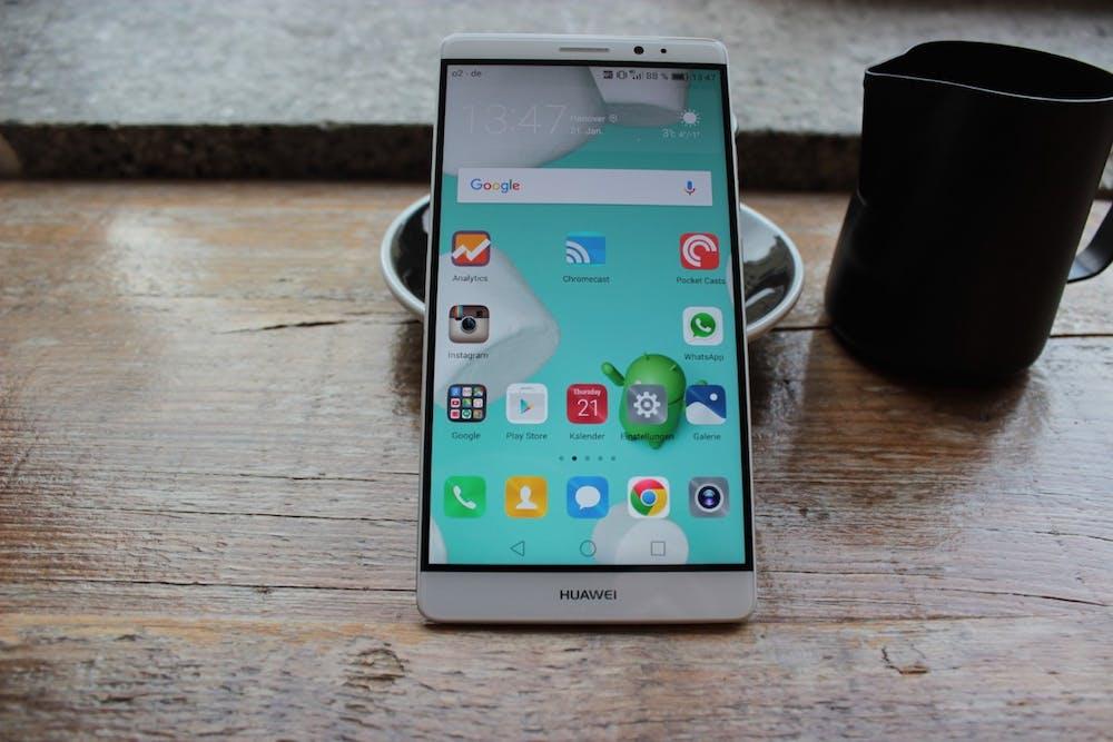 Huawei Mate 8 mit EMUI-4.0-Oberfläche.(Foto: t3n)