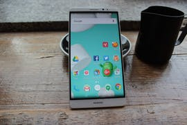 Schon besser: Huawei Mate 8 mit Nova Launcher.(Foto: t3n)