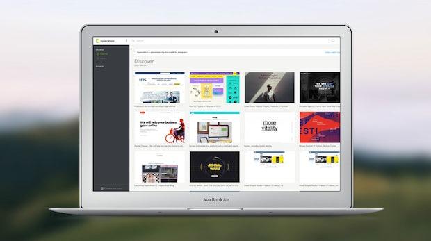 Sieht gut aus und kostet nix: Hypershoot ist ein Bookmarking-Dienst speziell für Designer