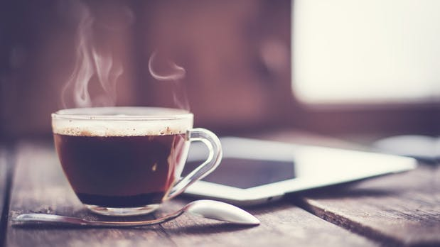 Die wirklich wichtige Kennzahl: Gehackte Kaffeemaschine misst den Kaffeeverbrauch in Echtzeit