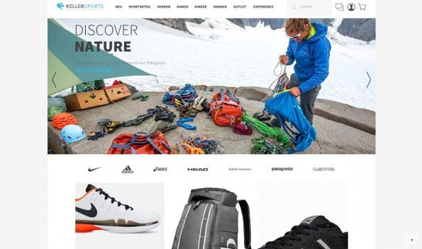 Moritz Keller ist Mitgründer und Geschäftsführer des Onlineshops Keller Sports, der Sport-Produkte vertreibt. (Screenshot: Keller Sports)