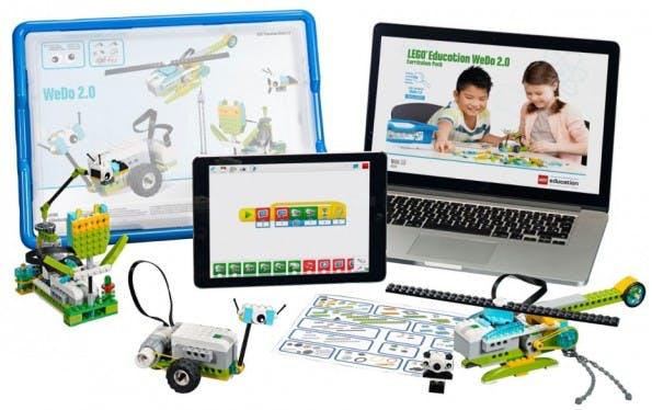Das Lernset WeDo 2.0 von Lego soll Ingenieurs- und Programmierfähigkeiten trainieren. (Foto: Lego)