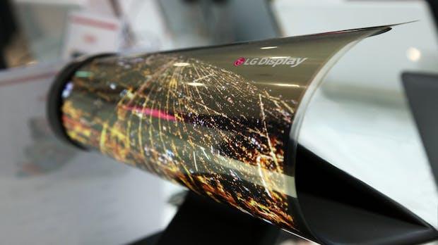 Vier gegen Samsung: LG arbeitet mit Apple, Google und Microsoft an faltbaren Displays