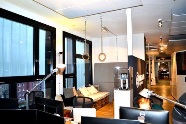 Lounge-Area. (Foto: Jochen G. Fuchs)
