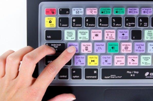 MacBook-Zubehör: Keyboard Shortcut Skins. (Foto: Photojojo)