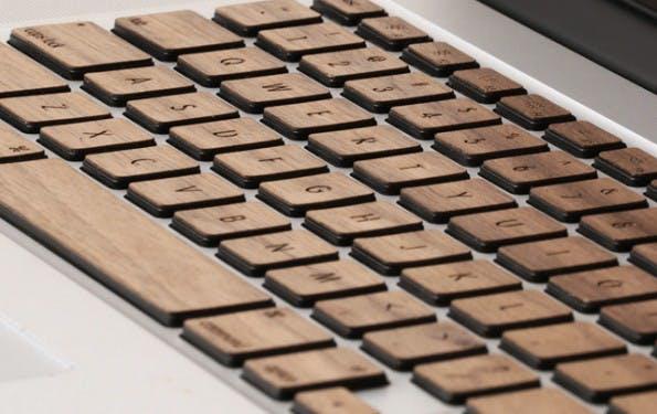 MacBook-Zubehör: Lazerwood Keys. (Foto: Lazerwood)