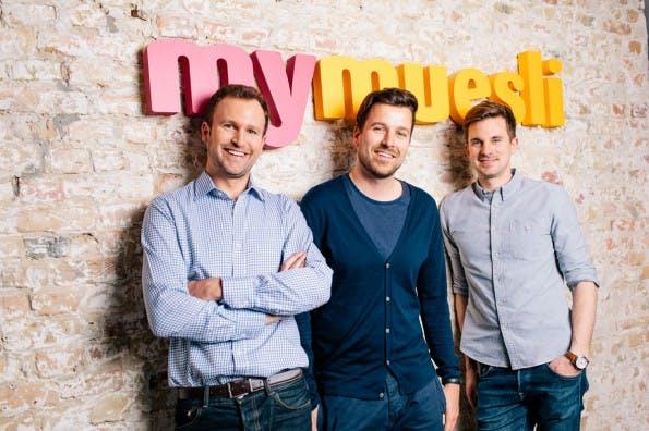 Das Gründerteam von MyMuesli. (Foto: MyMuesli)