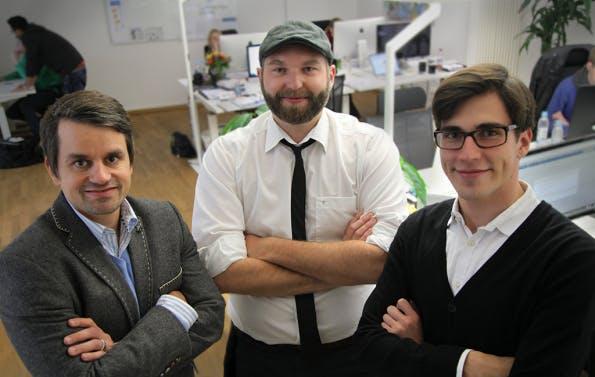 OnPage.org heißt das Unternehmen, das Andreas Bruckschlögl zusammen mit Marcus Tandler und Merlin Jacob 2012 gegründet hat. (Foto: Vebidoo.de)