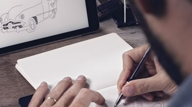"""Wie geil ist das denn? Der """"Pen of the Future"""" überträgt deine Papier-Skizzen auf dein Tablet"""