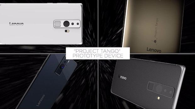 Project Tango: Google lässt sein erstes Augmented-Reality-Smartphone von Lenovo produzieren