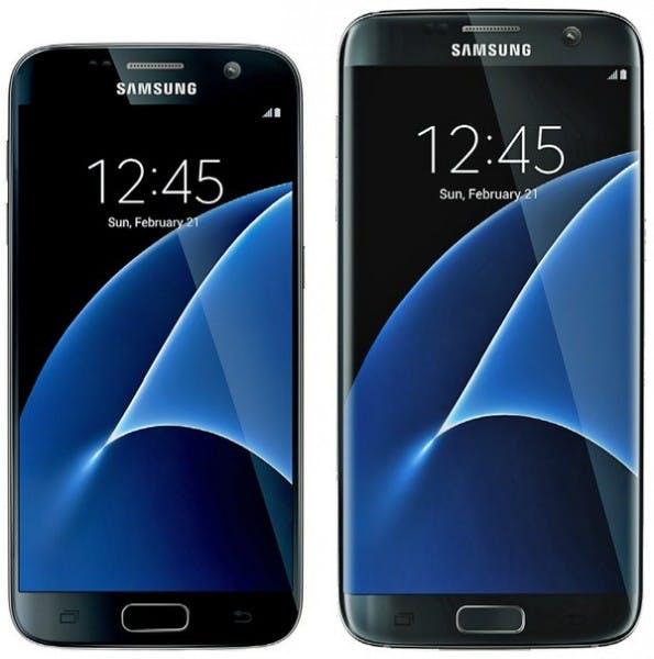 So sollen die Galaxy-S7-Modelle aussehen. (Bild. evleaks)