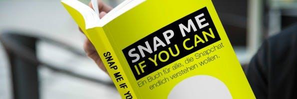 """Snap Me If You Can"" – das Snapchat-Buch. (Bild: Snapmeifyoucan.net)"