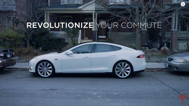Tesla-Spot: Wie selbstfahrende Autos das Leben von Pendlern verändern werden