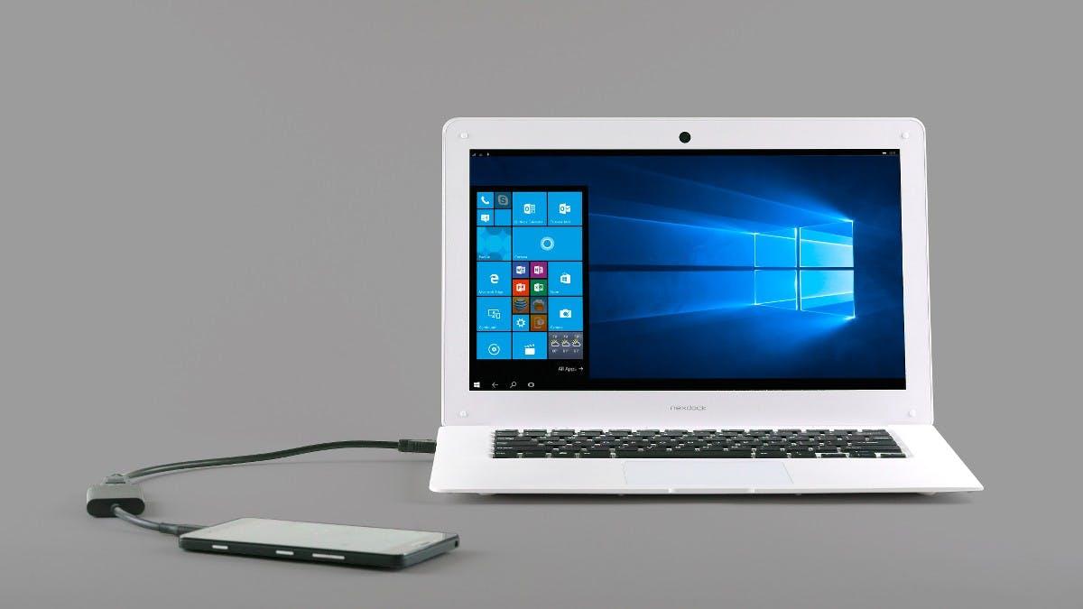 NexDock verwandelt Smartphones und Raspberry-Pis in vollwertige Notebooks